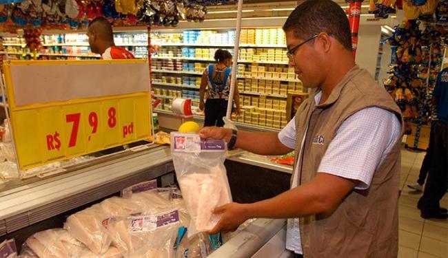 A loja Bompreço da Pituba apresentou irregularidades - Foto: Codecon   Divulgação