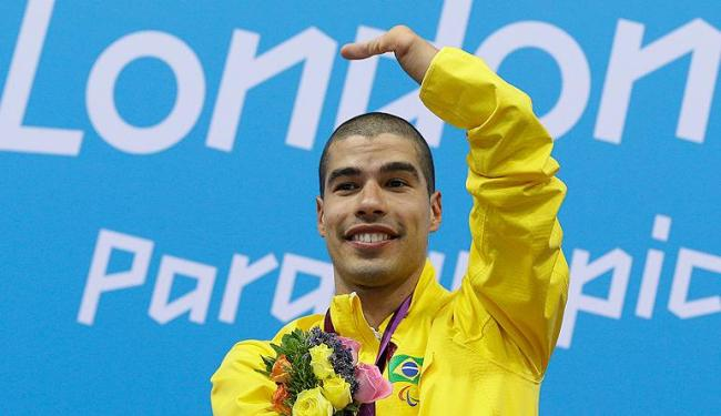Ouro de Daniel Dias na natação foi fundamental para o 8º lugar no 1º dia de competição - Foto: Kirsty Wigglesworth / Agência AP