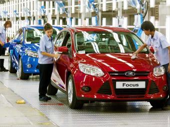 A cada dez segundos, um carro da Ford é produzido - Foto: Divulgação