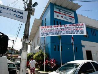 A Base Comunitária do Calabar foi a primeira a ser instalada - Foto: Gildo Lima   Ag. A TARDE