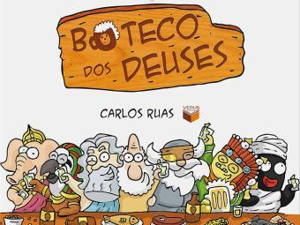 Capa do livro O Boteco dos Deuses, de Carlos Ruas - Foto: Reprodução