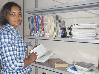 Lígia busca apoio para abrir uma sorveteria-biblioteca - Foto: Arcevo Pessoal