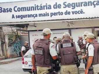 Nova base passa a funcionar com 120 policiais em sede provisória - Foto: Margarida Neide | Ag. A TARDE