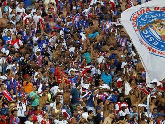 Expectativa é de um bom público no jogo domingo em Pituaçu; ingressos já estão à venda - Foto: Eduardo Martins   Ag. A Tarde