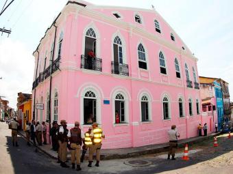 Unidade está situada no prédio desativado da Escola Marquês de Abrantes, no Centro Histórico - Foto: Manu Dias   Secom