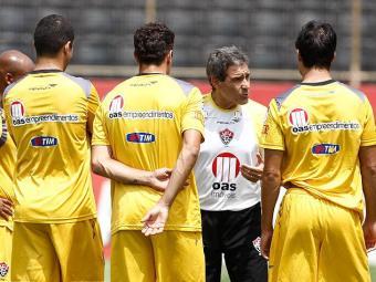 Carpegiani terá uma semana de treinos antes do jogo sábado, 22, contra o Goías no Barradão - Foto: LUCIO TAVORA| AG. A TARDE