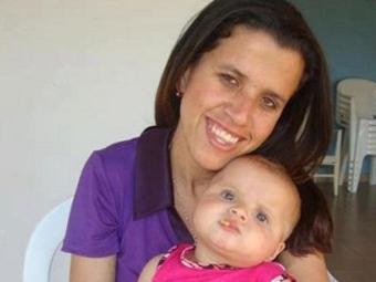 Luciana Lima tinha uma filha de 3 anos, a pequena Laura - Foto: Reprodução