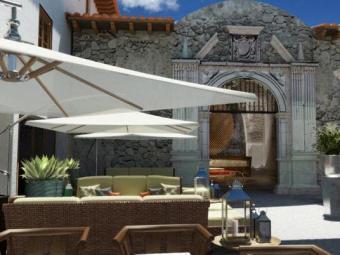 Área do novo hotel de Cusco - Foto: Divulgação   Marriott