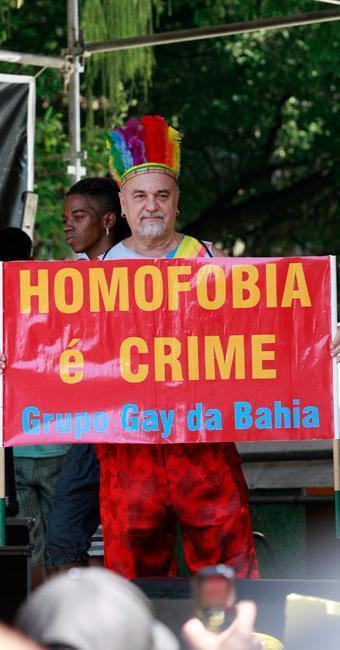 GGB lança campanha voltada aos familiares de homossexuais - Foto: Erick Salles   Ag. A TARDE