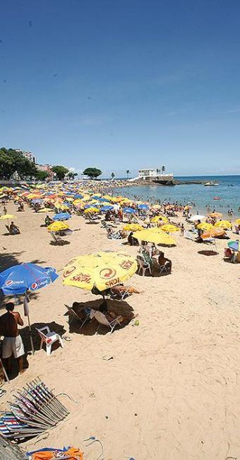 Dez praias de Salvador e Região Metropolitana (RMS) estão impróprias para banho - Foto: Mila Cordeiro | Ag. A TARDE