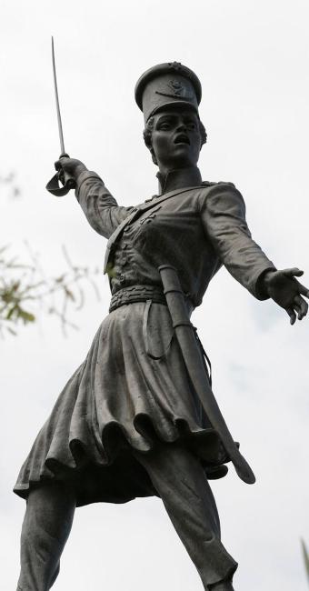 Monumento Maria Quitéria, considerada símbolo do 2 de julho - Foto: Marco Aurélio Martins | Ag. A TARDE