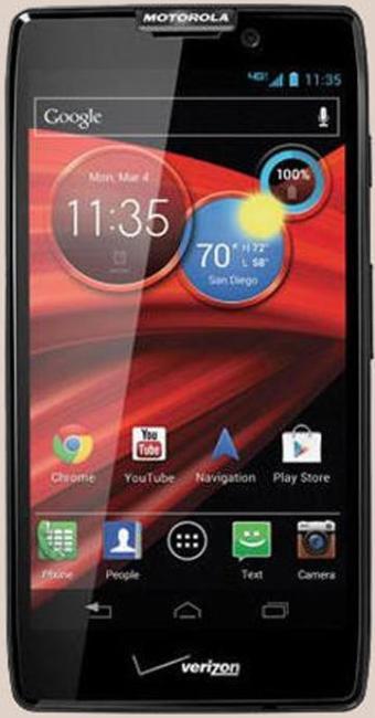 Novo smartphone da Motorola, o Droid RAZR HD com Android e 4G - Foto: Divulgação