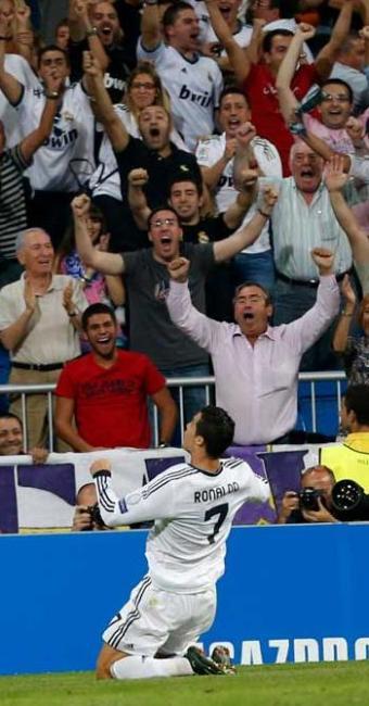 Craque português marca no final do jogo e garante triunfo do Real sobre o City - Foto: Juanjo Martin   Agência Efe