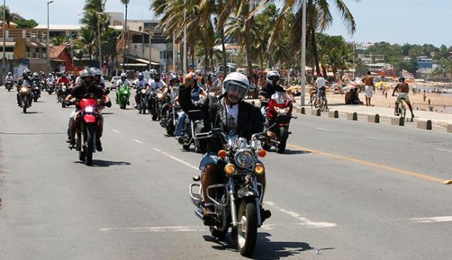 Passeio teve participação do moto clubes - Foto: Luciano da Matta | Ag. A TARDE