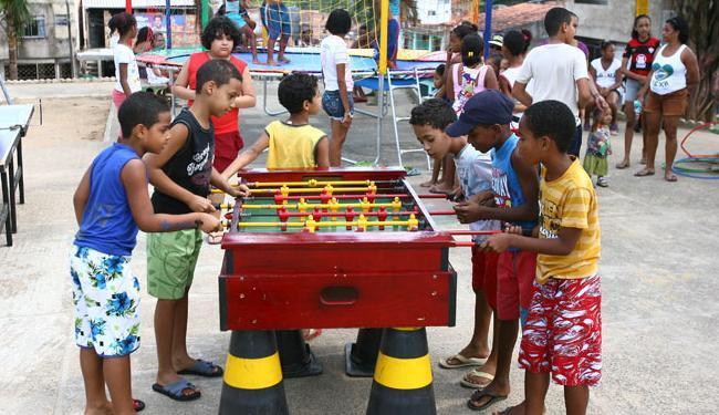 Projeto já aconteceu no bairro de Águas Claras - Foto: Fernando Amorim | Ag. A TARDE
