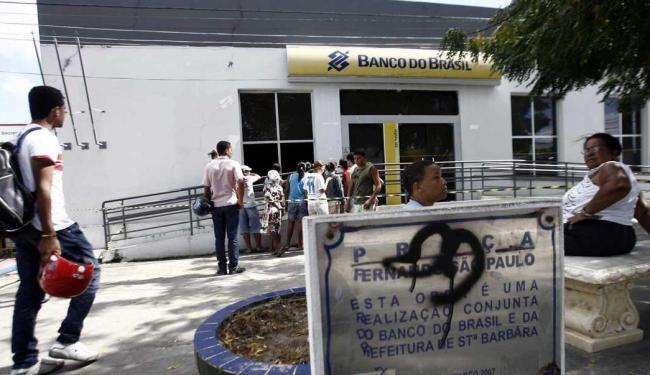 A agência foi interditada para perícia - Foto: Luiz Tito | Ag. A TARDE
