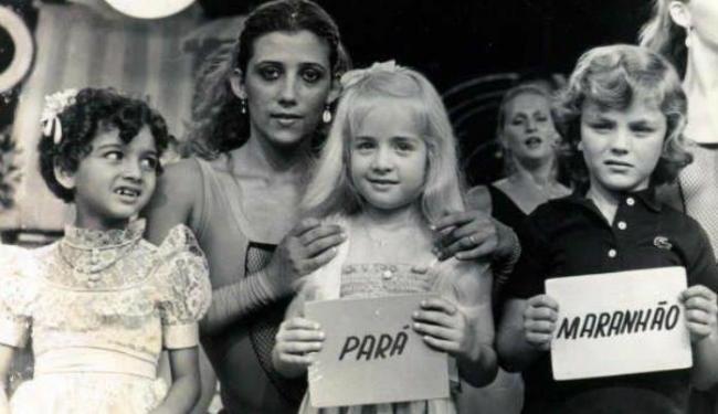 A apresentadora ganhou o concurso de beleza do programa do Chacrinha - Foto: Reprodução | Facebook