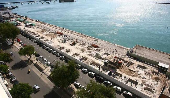 Arquibancadas para desfile do Afródromo seriam montadas na Avenida da França - Foto: Raul Spinassé | Agência A TARDE