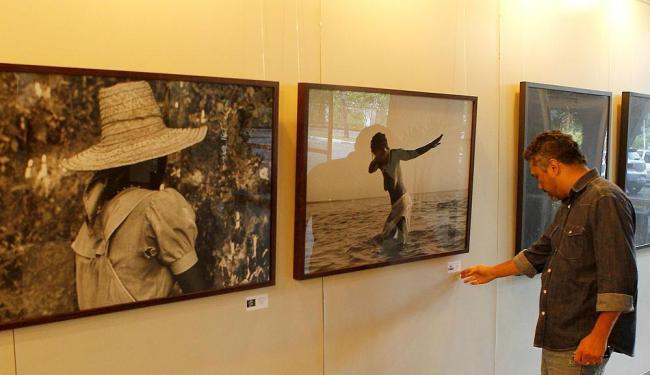 Exposição da Família Cravo no hall de entrada do Jornal A Tarde - Foto: Eduardo Martins | Ag. A Tarde