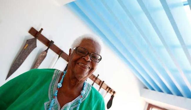 Mãe Stella fez parte do primeiro barco das iaôs de mãe Senhora, terceira líder do Opô Afonjá - Foto: Fernando Vivas | Agência A TARDE