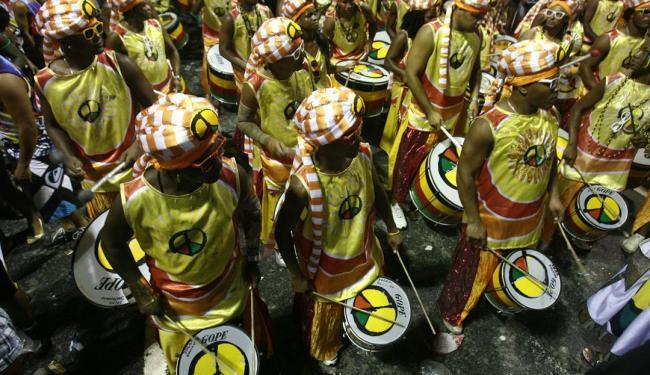 Banda apresentará o ensaio 'A Primavera dos Povos Africanos' - Foto: Raul Spinassé   Ag. A TARDE