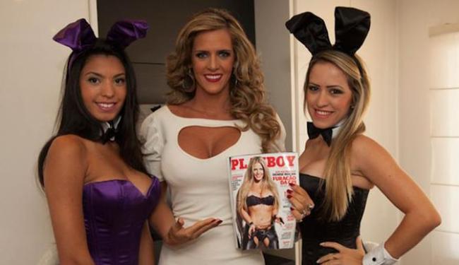 Denise Rocha afirmou que o ensaio está melhor do que o vídeo de sexo - Foto: Ronald Guido | Divulgação