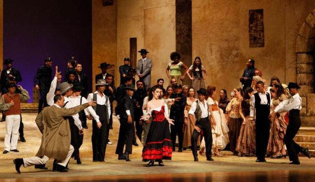 Espetáculo fica em cartaz até segunda-feira, no Teatro Castro Alves - Foto: Eduardo Martins | Ag. A TARDE