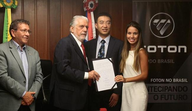Maior fabricante de caminhões do mundo, grupo chinês pretende investir R$ 600 milhões - Foto: Mila Cordeiro / Ag. A TARDE