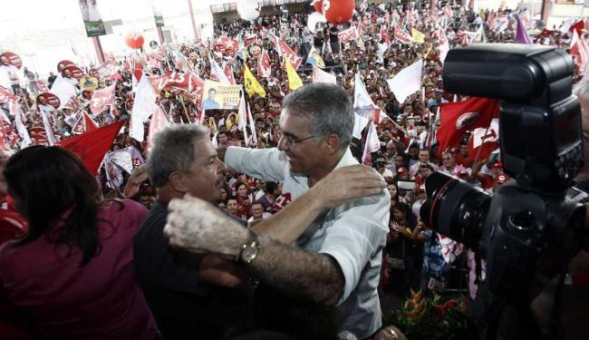 Ex-presidente diz que se o candidato do PT ganhar ele volta em Feira de Santana - Foto: Luiz Tito   Ag. A TARDE