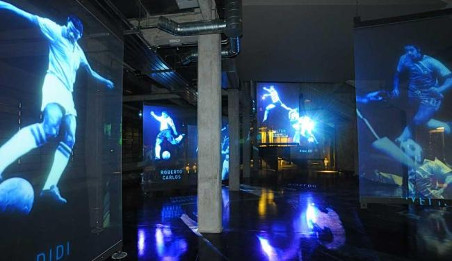 A tecnologia é a dos museus da Língua Portuguesa e do Futebol, em SP - Foto: Museu do Futebol | Divulgação
