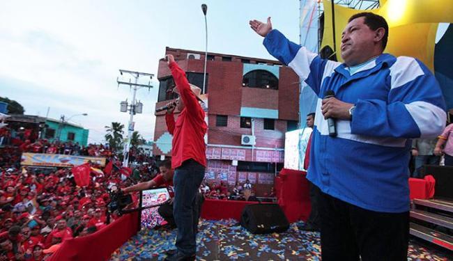 Chávez lamentou a liberdade perdida durante seus 14 anos no poder - Foto: Agência Reuters