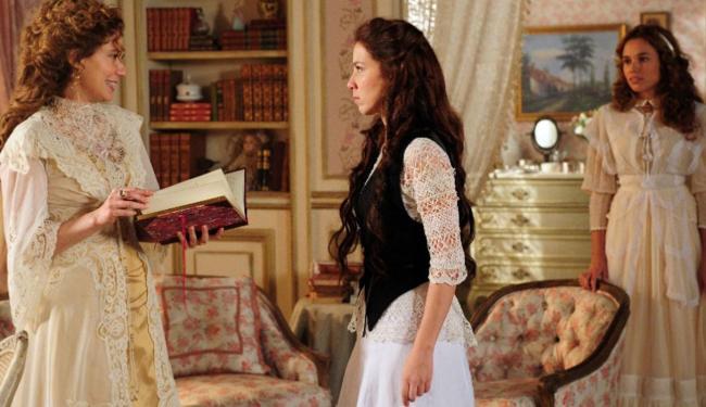O embate entre Marjorie Estiano e Patrícia Pillar, mãe e filha em novela, é o marco do folhetim - Foto: Divulgação | TV Globo