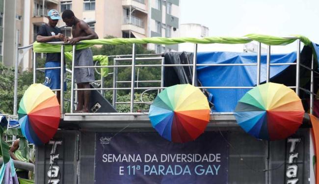 Parada gay movimentou o Campo Grande no domingo - Foto: Lúcio Távora | Ag. A TARDE