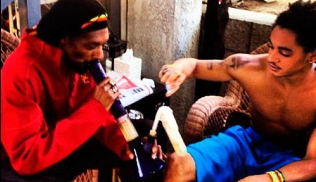 As imagens foram postadas pelo filho do rapper nas redes sociais - Foto: Reprodução | Twitter