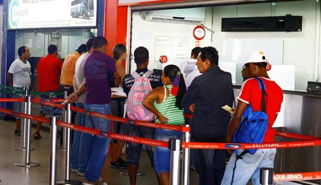 Oito empresas só oferecem serviço de venda de passagens no guichê da rodoviária - Foto: Fernando Vivas | Ag. A TARDE