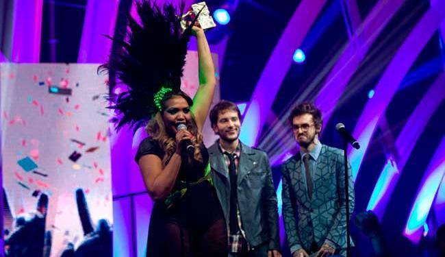 Gaby Amarantos levou três dos quatro prêmios a que concorreu no VMB Brasil da MTV - Foto: Marcos Issa | Argosfoto