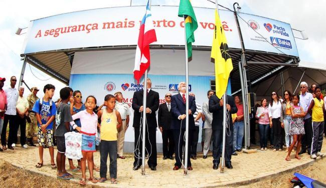 A unidade foi inaugurada pelo governador Jaques Wagner e pelo secretário Maurício Barbosa - Foto: Manu Dias | Secom