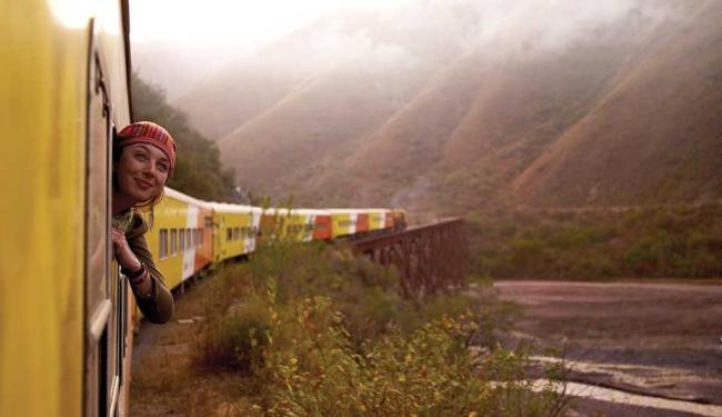 O argentino Trem das Nuvens leva o viajante até 4.200 metros sobre o nível do mar - Foto: Agência Efe