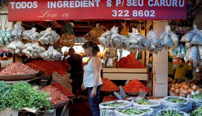 O quiabo é um vegetal de baixa caloria e rico em fibras - Foto: Eduardo Martins   Ag. A TARDE
