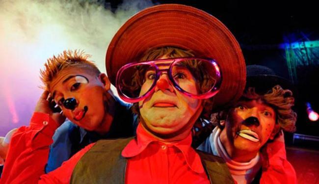 Espetáculo conta com a apresentação de quatro palhaços - Foto: Divulgação | Circo Marcos Frota