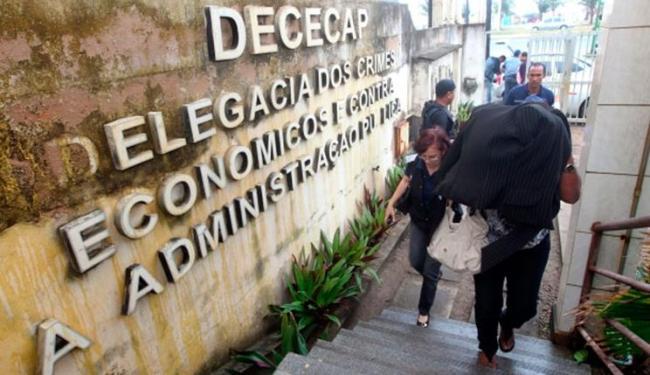 Até às 14h desta sexta, cinco pessoas já tinham sido presas - Foto: Divulgação   Secretaria de Segurança Pública da Bahia