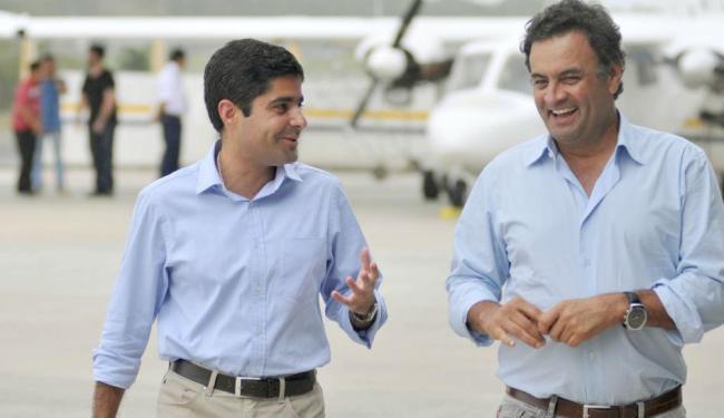 Aécio e Neto participarão de um encontro de campanha, às 20h, na Boca do Rio - Foto: Divulgação   Ag. A TARDE