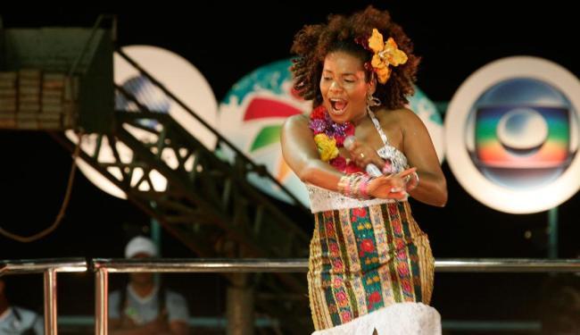 Cantora está escalada para nova minissérie na emissora da família dos Marinho - Foto: Mila Cordeiro | Ag. A TARDE