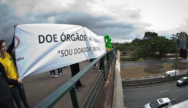 Objetivo da campanha é desmistificar a doação, incentivando o ato solidário - Foto: Marcelo Camargo | Agência Brasil