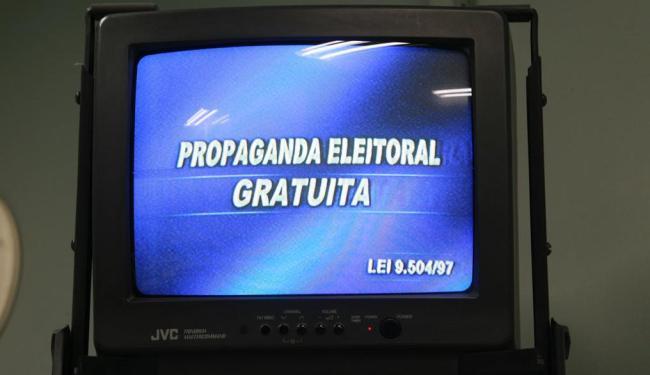Propaganda na TV e nas rádios devem ser encerradas na próxima quinta, 4 - Foto: Fernando Vivas   Ag. A TARDE