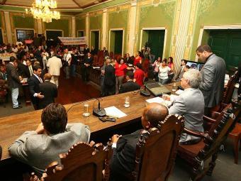 Apenas 19 dos 41 atuais vereadores de Salvador conseguiram se reeleger neste pleito - Foto: Fernando Amorim | Ag. A TARDE