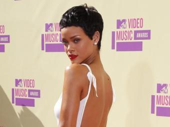 Rihanna na premiação MTV Europe Music Awards - Foto: Agência Reuters