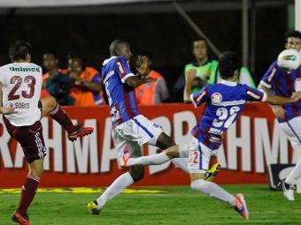 Esquadrão desperdiça chances e sofre castigo em Pituaçu: derrota por 2 a 0 para o líder Fluminense - Foto: Eduardo Martins | Agência A TARDE