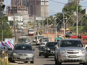 Uma nova via também será construída contornando o Bairro da Paz - Foto: Joá Souza | Ag. A TARDE
