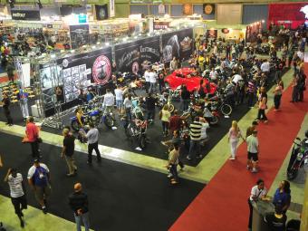 O Salão Bike Show é o maior evento de motos do Rio de Janeiro - Foto: Divulgação/Salão Bike Show